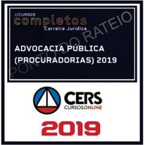 ADVOCACIA PÚBLICA (PROCURADORIAS) 2019