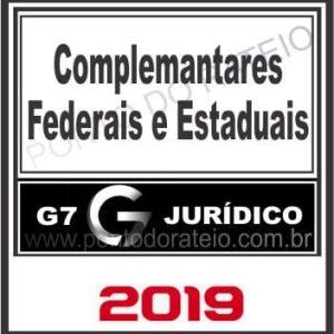 DISCIPLINAS COMPLEMENTARES (FEDERAL E ESTADUAL) G7 2019